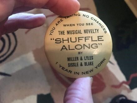 Shuffle Along Anniversary Souvenir Pin