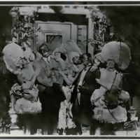 Miller and Lyles with Chorus Girls